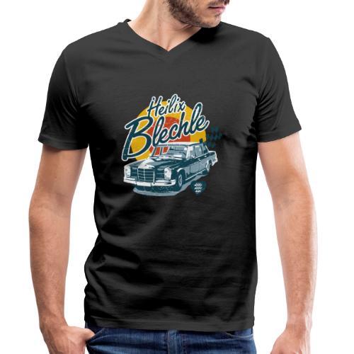 Heilix Blechle - Männer Bio-T-Shirt mit V-Ausschnitt von Stanley & Stella