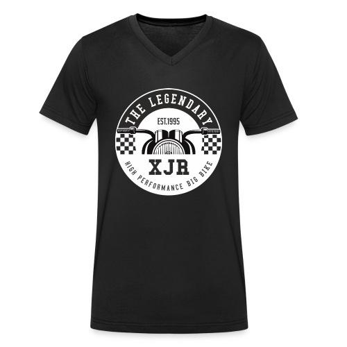 XJR Motorrad Motiv - Männer Bio-T-Shirt mit V-Ausschnitt von Stanley & Stella