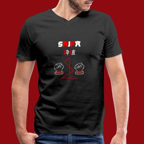 Saifa - Kata - Karate - Goju Ryu - Martial Arts - Männer Bio-T-Shirt mit V-Ausschnitt von Stanley & Stella