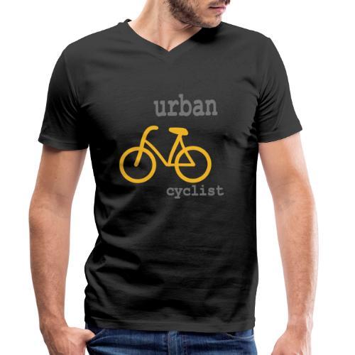 Urban Cyclist - Männer Bio-T-Shirt mit V-Ausschnitt von Stanley & Stella