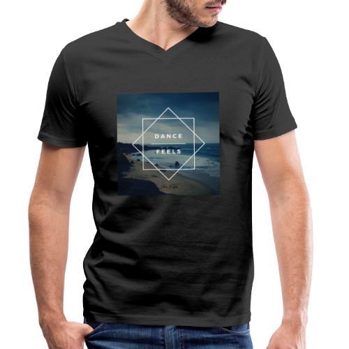 Dance Feels - T-shirt ecologica da uomo con scollo a V di Stanley & Stella