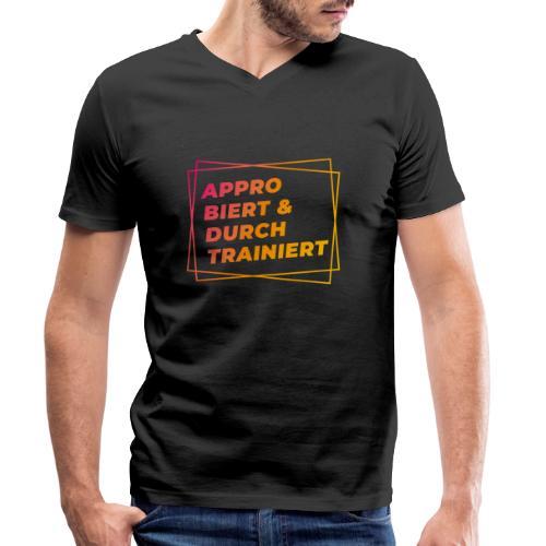 Approbiert & durchtrainiert (DR2) - Männer Bio-T-Shirt mit V-Ausschnitt von Stanley & Stella