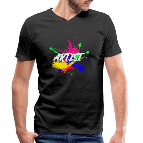 Montrez que vous êtes un Artiste International - T-shirt bio col V Stanley & Stella Homme