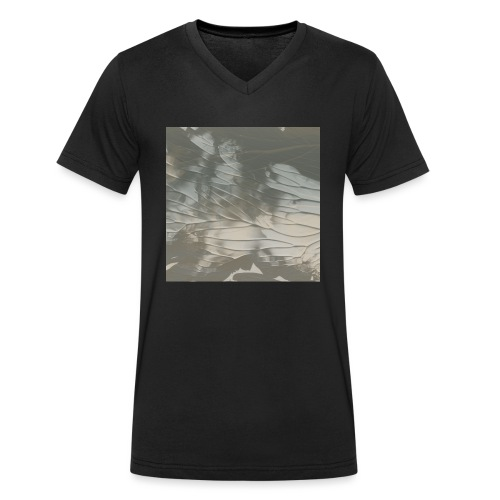 tie dye - Men's Organic V-Neck T-Shirt by Stanley & Stella
