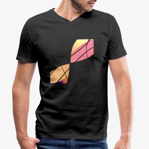 Wave - T-shirt ecologica da uomo con scollo a V di Stanley & Stella