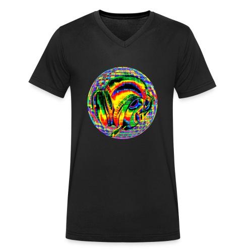 Casque à facettes - T-shirt bio col V Stanley & Stella Homme