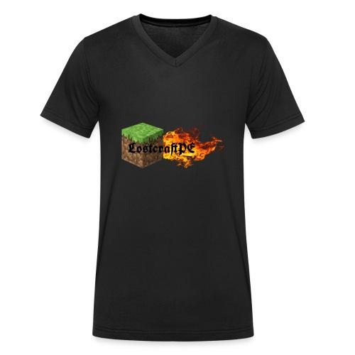 LostcraftPE - Männer Bio-T-Shirt mit V-Ausschnitt von Stanley & Stella
