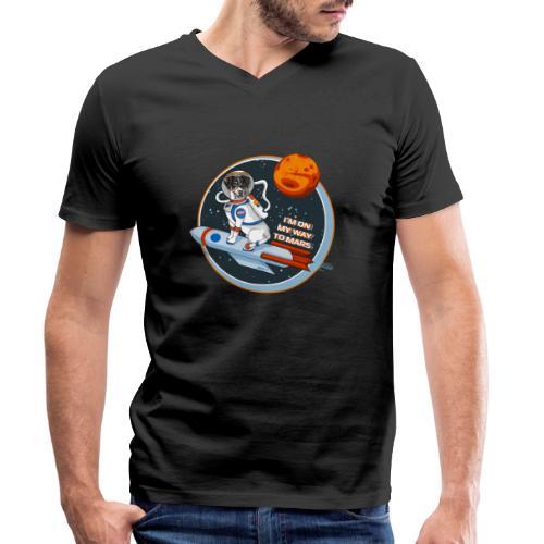 Astrodog - Männer Bio-T-Shirt mit V-Ausschnitt von Stanley & Stella