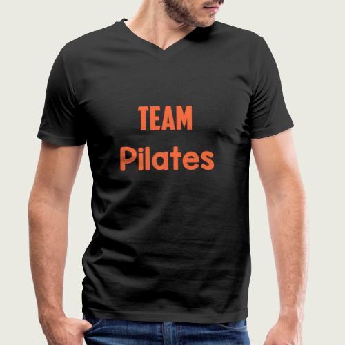 Team pilates - T-shirt bio col V Stanley & Stella Homme