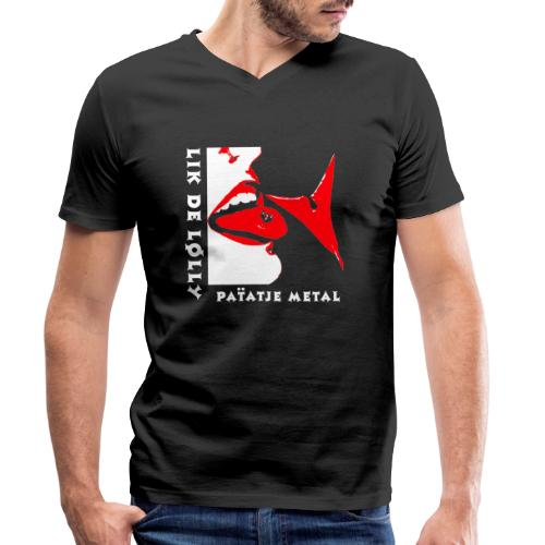 likdelolly CD - Mannen bio T-shirt met V-hals van Stanley & Stella