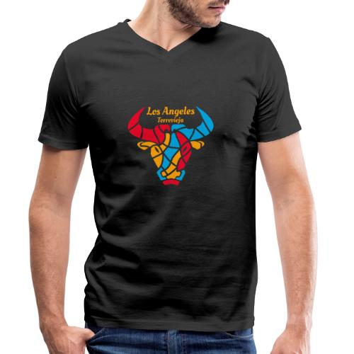 Los Angeles Torrevieja Merch - Men's Organic V-Neck T-Shirt by Stanley & Stella