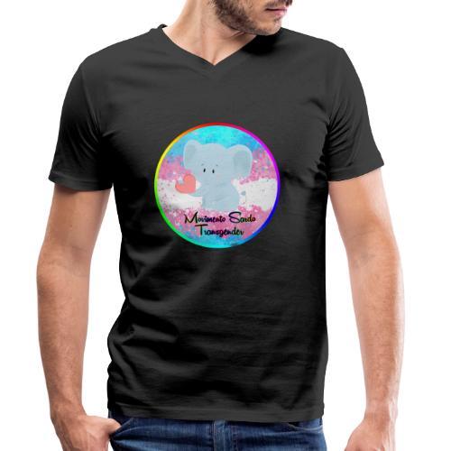 Logo Dell'Associazione Movimento Sardo Transgender - T-shirt ecologica da uomo con scollo a V di Stanley & Stella