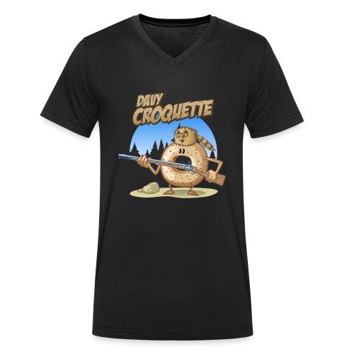Davy croquette - Männer Bio-T-Shirt mit V-Ausschnitt von Stanley & Stella