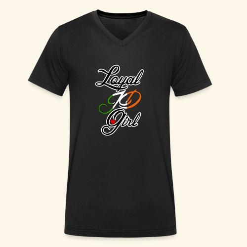Loyal JD girl - Men's Organic V-Neck T-Shirt by Stanley & Stella