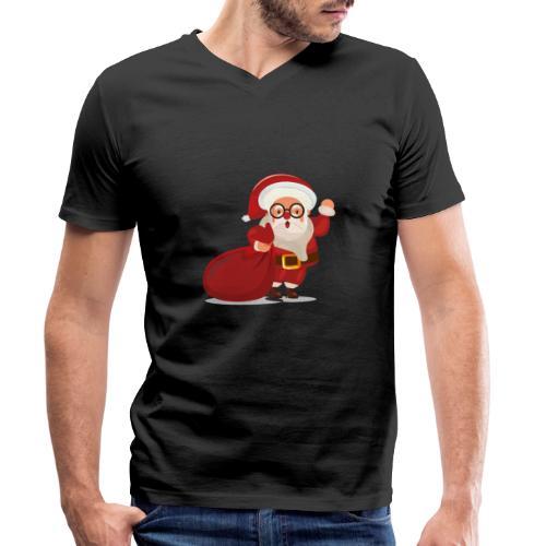 Christmas 02 - T-shirt bio col V Stanley & Stella Homme