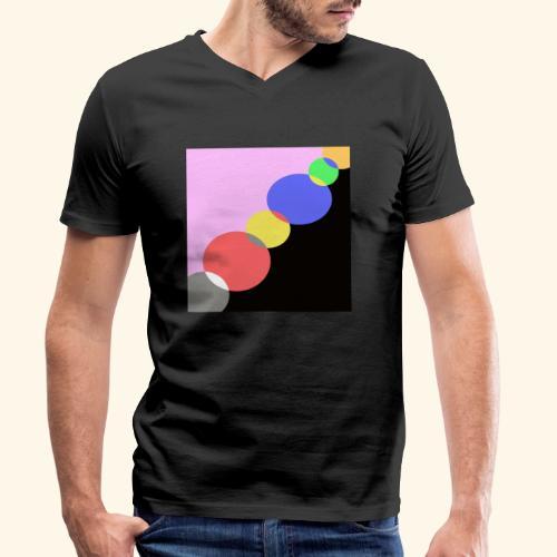 Visione 44 - T-shirt ecologica da uomo con scollo a V di Stanley & Stella