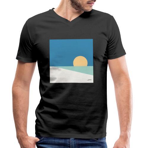 Fiji - Men's Organic V-Neck T-Shirt by Stanley & Stella