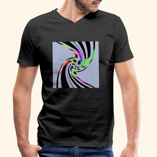 Fantasia 49 - T-shirt ecologica da uomo con scollo a V di Stanley & Stella