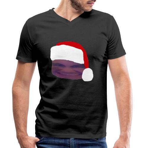 Tomte Affie - Ekologisk T-shirt med V-ringning herr från Stanley & Stella
