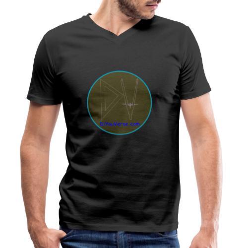 Logo DiyouVerse 1 - Camiseta ecológica hombre con cuello de pico de Stanley & Stella
