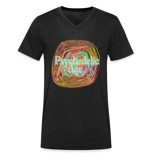 Psycho - Männer Bio-T-Shirt mit V-Ausschnitt von Stanley & Stella