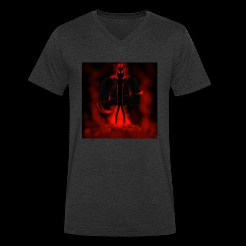 Corrupted Nightcrawler - Men's Organic V-Neck T-Shirt by Stanley & Stella