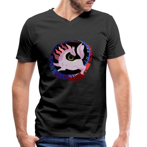 Spirale infinita - T-shirt ecologica da uomo con scollo a V di Stanley & Stella