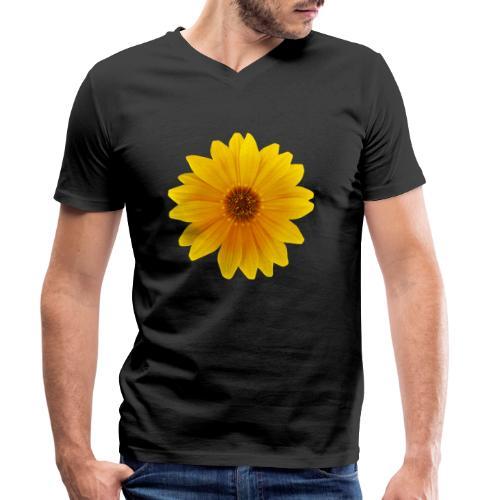 TIAN GREEN Garten - Mittagsgold 2020 01 - Männer Bio-T-Shirt mit V-Ausschnitt von Stanley & Stella