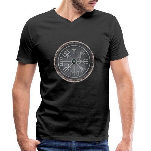 simbolo runico vichingo - T-shirt ecologica da uomo con scollo a V di Stanley & Stella