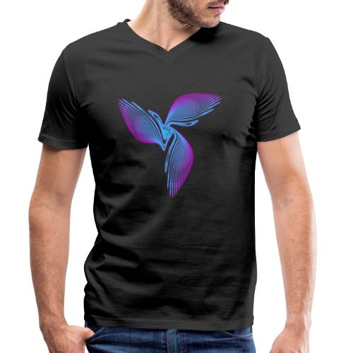 Vogel Paradiesvogel Kakadu Ikarus Chaos 2992cool - Männer Bio-T-Shirt mit V-Ausschnitt von Stanley & Stella