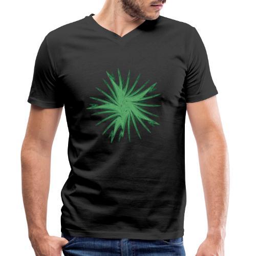Starfish Sea Urchin Sea Animals Ocean Chaos 3469alg - Men's Organic V-Neck T-Shirt by Stanley & Stella
