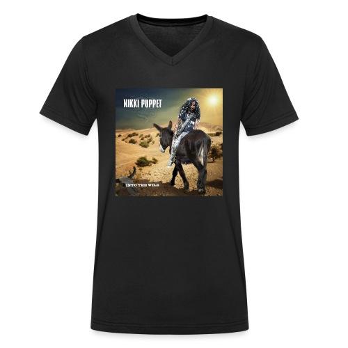 NIKKI PUPPET INTO THE WILD - Männer Bio-T-Shirt mit V-Ausschnitt von Stanley & Stella