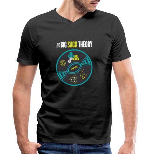 The Big Sack Theory - Männer Bio-T-Shirt mit V-Ausschnitt von Stanley & Stella