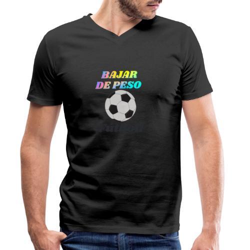 Fútbol para estar en forma - Camiseta ecológica hombre con cuello de pico de Stanley & Stella