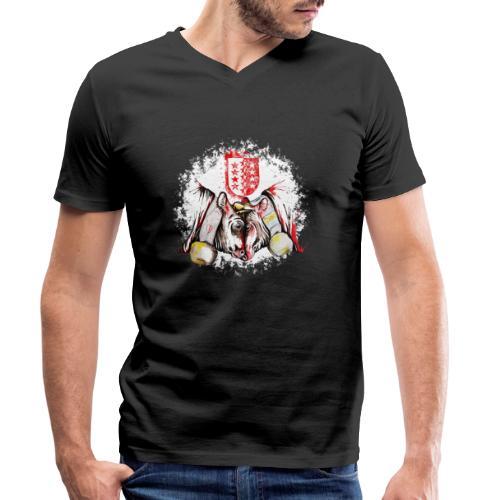 Vache d'hérens Eringer valais - T-shirt bio col V Stanley & Stella Homme