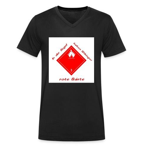 In der Regel... - Männer Bio-T-Shirt mit V-Ausschnitt von Stanley & Stella