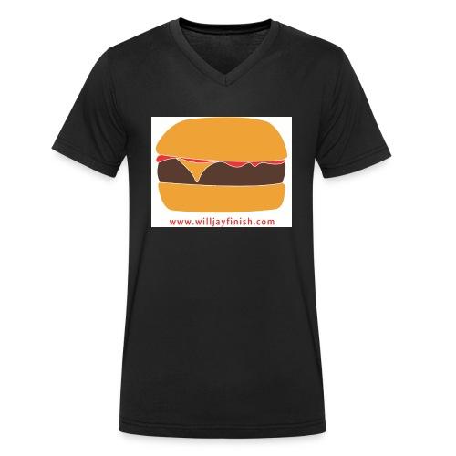willjayfinish - Men's Organic V-Neck T-Shirt by Stanley & Stella