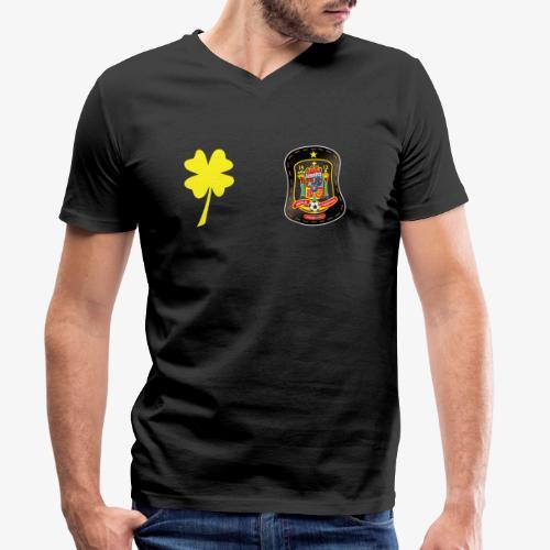 Trébol de la suerte CEsp - Camiseta ecológica hombre con cuello de pico de Stanley & Stella