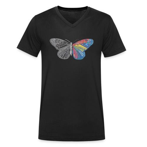 butterfly effect - Männer Bio-T-Shirt mit V-Ausschnitt von Stanley & Stella