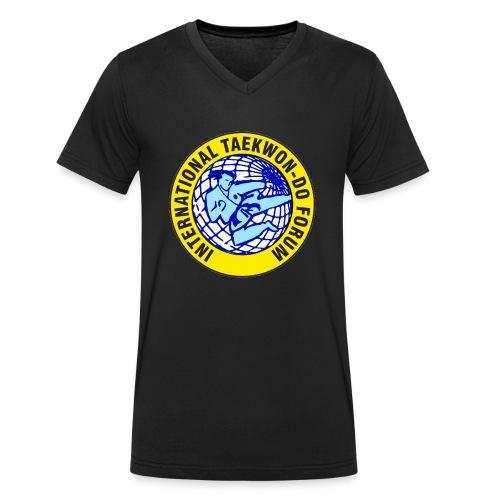 ITF TAEKWON-DO - Camiseta ecológica hombre con cuello de pico de Stanley & Stella