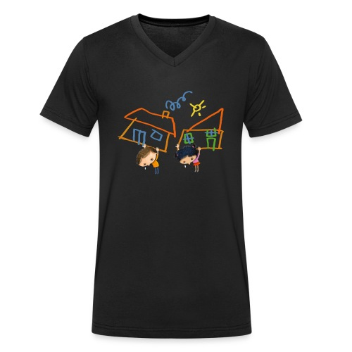 Child's Play - Men's Organic V-Neck T-Shirt by Stanley & Stella
