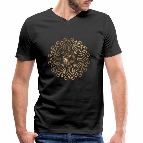 petanque sun - T-shirt bio col V Stanley & Stella Homme