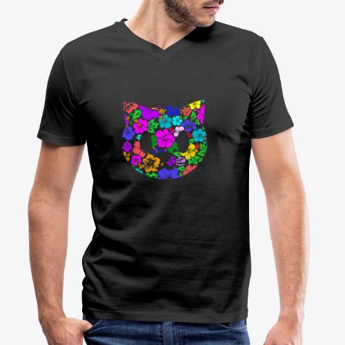 Color Tropicat - T-shirt bio col V Stanley & Stella Homme