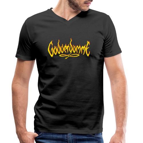 godverdomme - T-shirt bio col V Stanley & Stella Homme