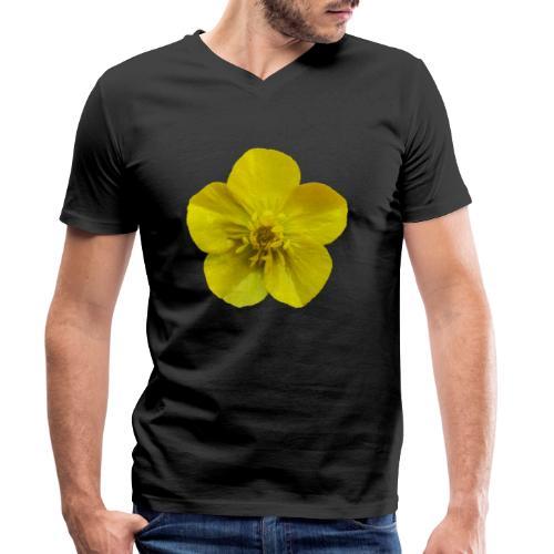TIAN GREEN Garten - Hahnenfuß 2020 01 - Männer Bio-T-Shirt mit V-Ausschnitt von Stanley & Stella