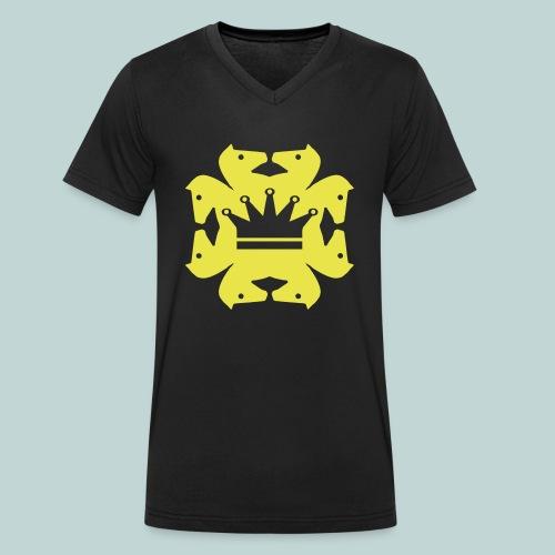 acht Springer - Männer Bio-T-Shirt mit V-Ausschnitt von Stanley & Stella