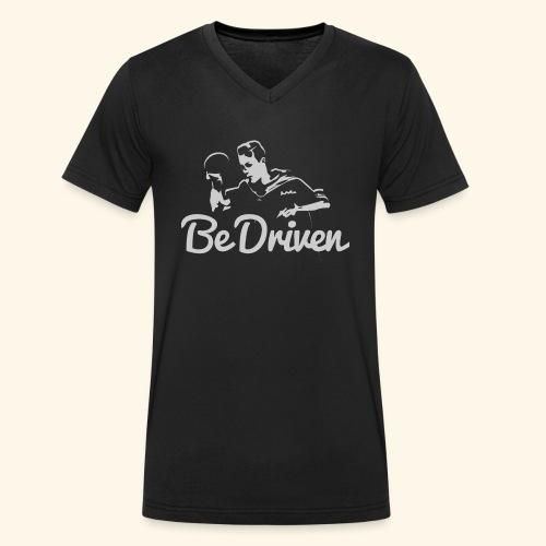 Be Driven to what you dreaming of win ping pong - Männer Bio-T-Shirt mit V-Ausschnitt von Stanley & Stella