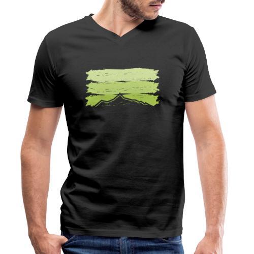 Ahorn - Männer Bio-T-Shirt mit V-Ausschnitt von Stanley & Stella