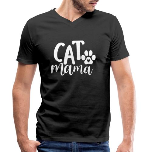 CAT MAMA - T-shirt bio col V Stanley & Stella Homme