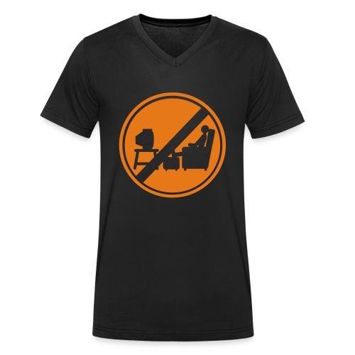 Macho Et Compagnie n'est pas devant la télé - T-shirt bio col V Stanley & Stella Homme
